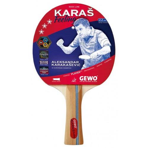 Gewo racket Karas Feeling 3-star