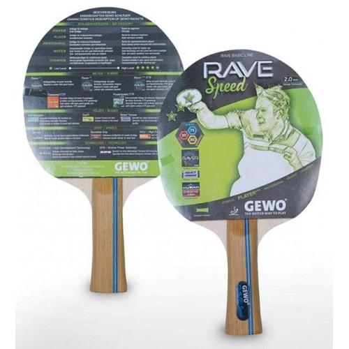 Gewo racket Rave Speed 3-star