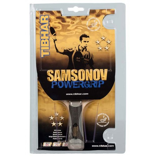 Tibhar racket Samsonov Powergrip 5-star
