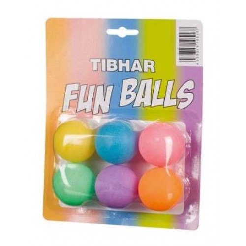 Tibhar boll Fun 6-pack