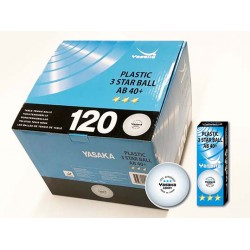 Yasaka boll XXX AB 40+ 3-pack
